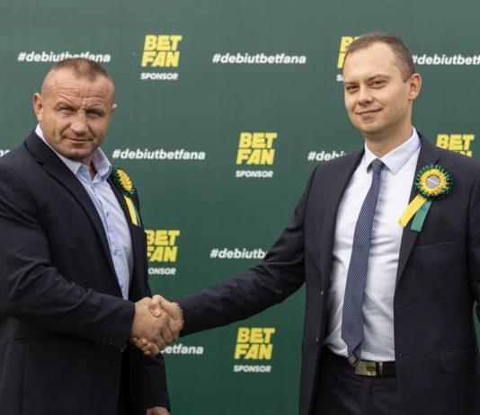 Pudzianowski twarzą bukmachera Betfan. To ma być współpraca inna od reszty!
